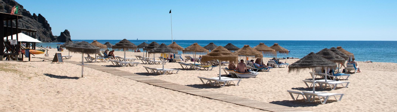 Praia da Luz Algarve beach